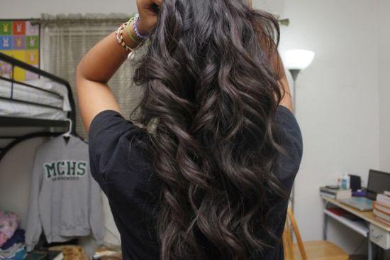 Val na kosu nakon korištenja glačanje