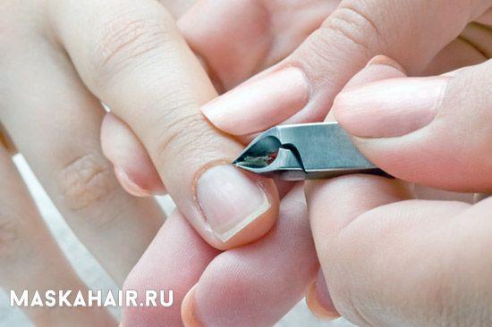 prije manikura ukloniti kožicu