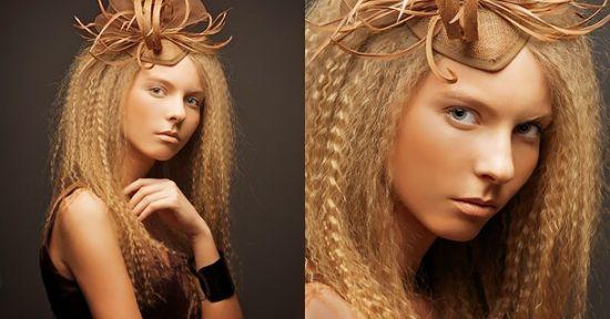 Prosječna Valoviti sloj kose