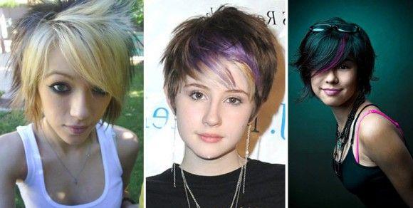 Frizura za kratku kosu za tinejdžerice