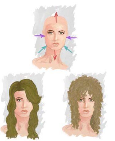 Četvrtasto lice, frizure za ispravljanje oblika
