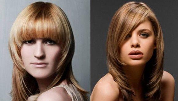 duge frizure za pravokutno lice