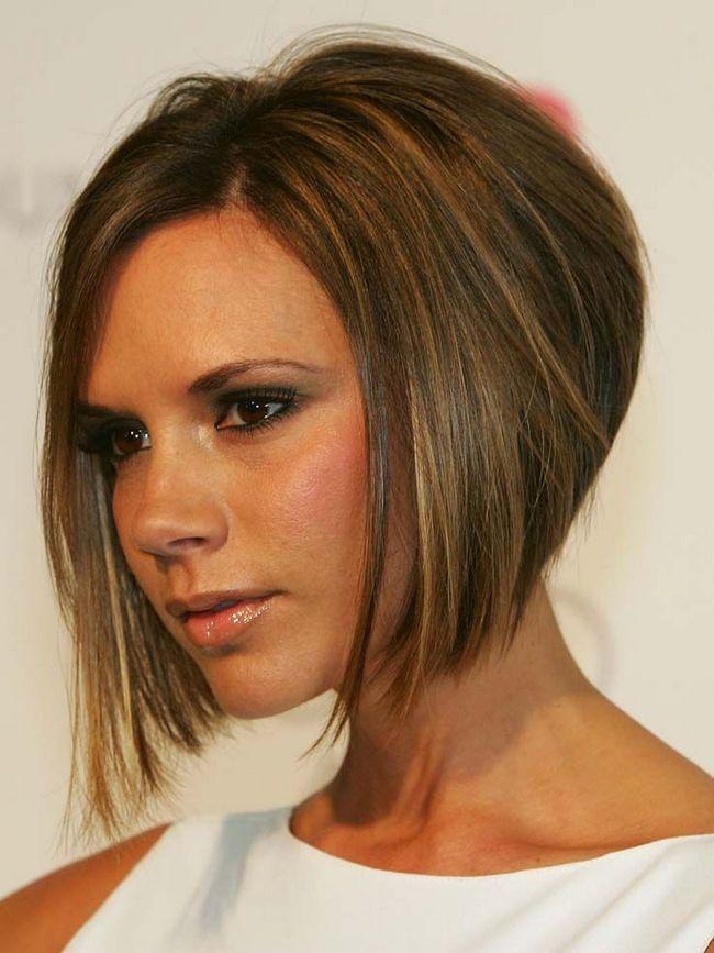 Victoria Beckham frizura bob