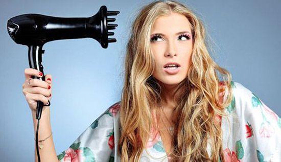 Foto: polaganje mokre kemije sušilo za kosu