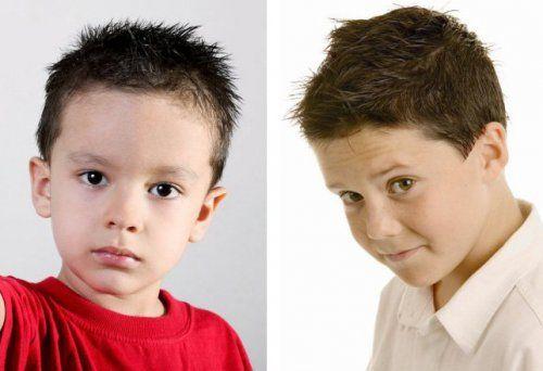 Jež - velika frizura za dječake
