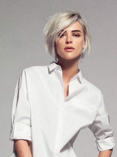 Šminka i platina boju kose