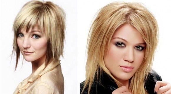 Košnja ljestve na kosu srednje duljine