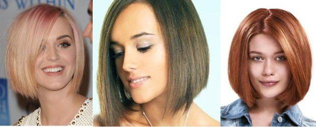 frizura za ovalno lice fotografiju